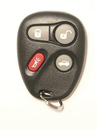 2004 Chevrolet Corvette Keyless Entry Remote
