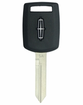 2004 Lincoln Aviator transponder key blank