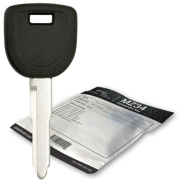2005 Mazda 3 transponder spare car key