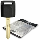 2005 Nissan Quest transponder key blank