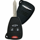 2006 Chrysler Pacifica Keyless Remote Key