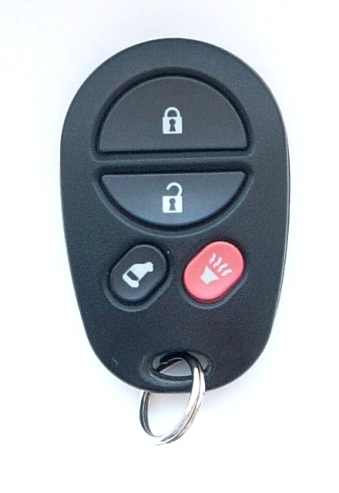 Discount Keyless Replacement Van Door Key Fob Car Entry Remote For Toyota Sienna GQ43VT20T