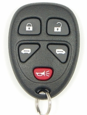 2007 Buick Terraza Keyless Entry Remote w/2 Power Side Doors