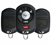 2007 Chevrolet Corvette Keyless Entry Remote