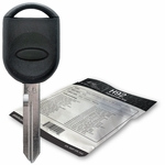 2007 Ford Edge transponder key blank