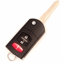 2007 Mazda 5 Keyless Remote key combo - refurbished