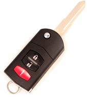 2007 Mazda 6 Keyless Entry Remote + key