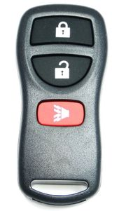 2007 Nissan Frontier Keyless Entry Remote