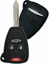 2008 Chrysler Pacifica Keyless Remote Key