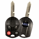 2008 Ford Five Hundred Keyless Entry Remote / key combo