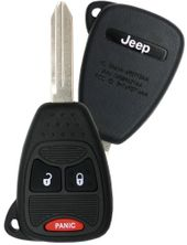 2008 Jeep Compass Keyless Entry Remote Key - refurbished