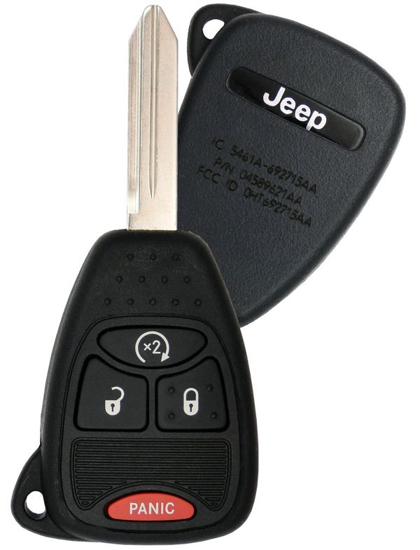 2008 Jeep Compass Keyless Remote Remote start