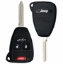 2008 Jeep Liberty Keyless Entry Remote Key'