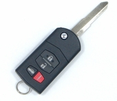 2008 Mazda RX-8 Keyless Entry Remote key combo