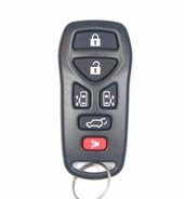 2008 Nissan Quest Keyless Entry Remote w/2 Power Side Doors - Used
