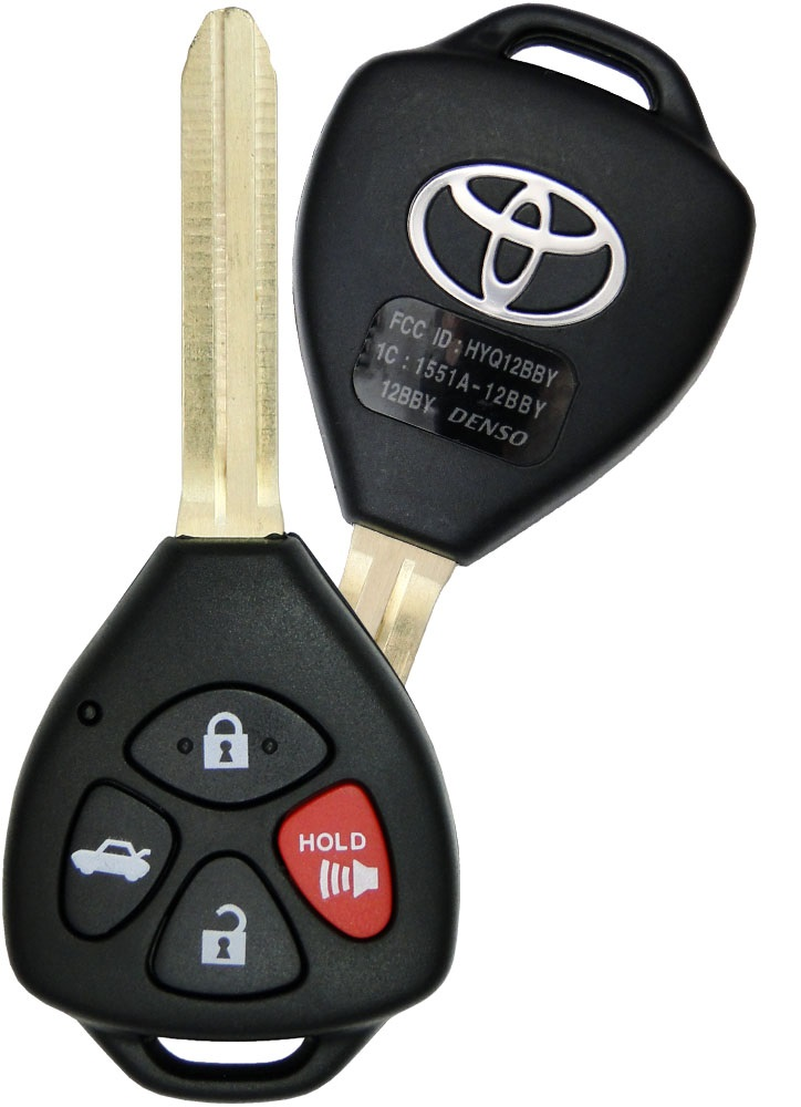camry key not working