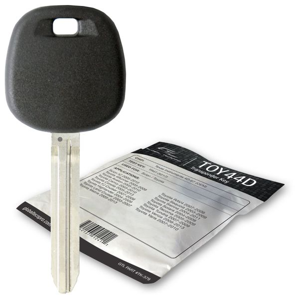 2008 Toyota Yaris transponder spare car key
