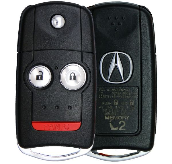 2009 Acura MDX Keyless Entry Remote Key Driver 2 35111-STX