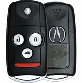 2009 Acura TL Keyless Entry Remote Key Driver 1