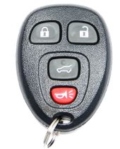 2009 Buick Enclave Keyless Entry Remote w/ Rear Glass