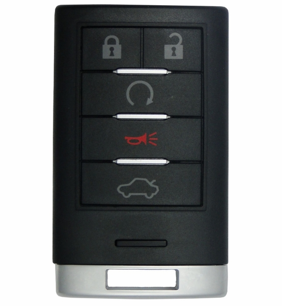 2009 Cadillac CTS Smart Remote Keyless Entry 25943676