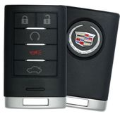 2009 Cadillac STS Smart Keyless Entry Remote - Driver 1