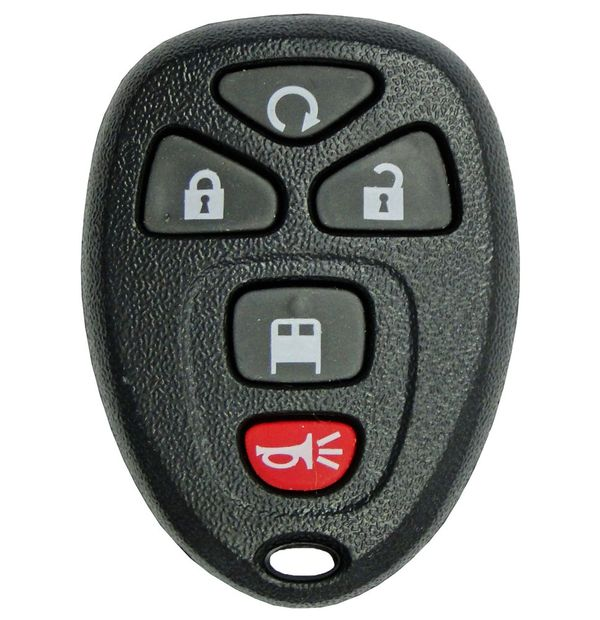 2009 Chevrolet Express Keyless Entry Remote, 20970808 , 22953234 , 5922375 ,  OUC60270, OUC60221