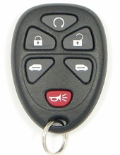 2009 Chevrolet HHR Panel Keyless Entry Remote