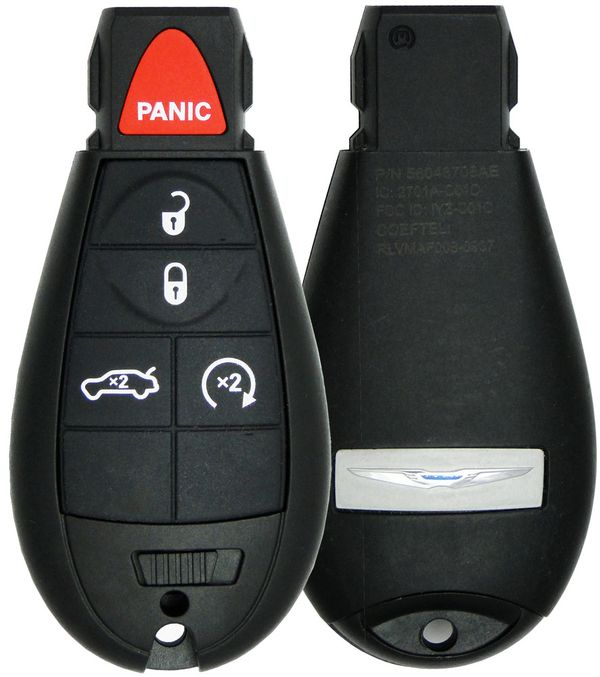 2009 Chrysler 300 fobik  with Remote Start