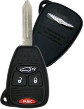 2009 Chrysler PT Cruiser Convertible Remote Key