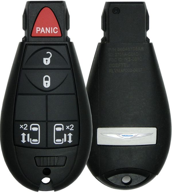 2009 Chrysler Town & Country Keyless Entry Remote