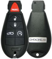 2009 Dodge Challenger Remote FOBIK Key w/ Engine Start