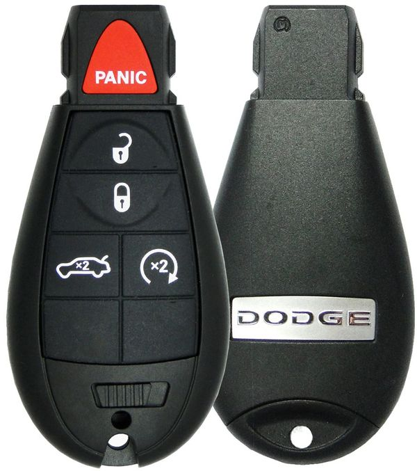 2009 Dodge Charger Keyless Entry Remote Fobik 05026457AF IYZ-C01C