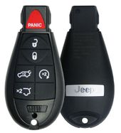 2009 Jeep Grand Cherokee Remote Fobik - 6 buttons