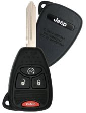 2009 Jeep Wrangler Remote Key w/ Engine Start - refurbished