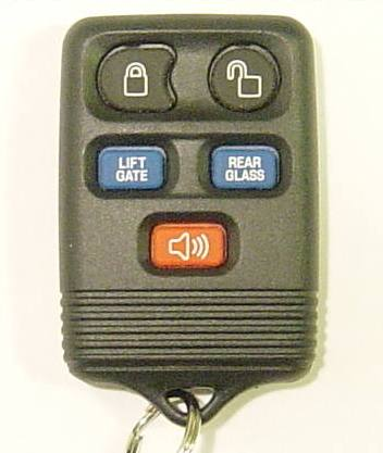 2009 Lincoln Navigator Key Fob liftgate