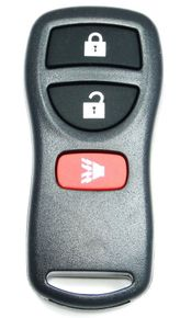 2009 Nissan Frontier Keyless Entry Remote