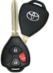 2009 Toyota Matrix Keyless Entry Remote Key