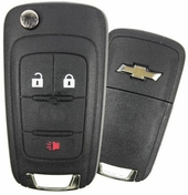 2010 Chevrolet Equinox Keyless Entry Remote Key - refurbished