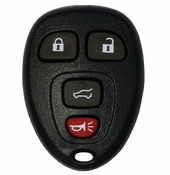 2010 Chevrolet Suburban Keyless Entry Remote with Rear Glass - Used