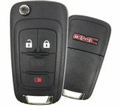 2010 GMC Terrain Keyless Entry Remote Key