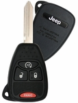 2010 Jeep Wrangler Remote Key w/ Engine Start