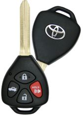 2010 Toyota Matrix Keyless Remote Key - refurbished