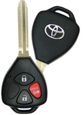 2010 Toyota Yaris Keyless Remote Key - refurbished
