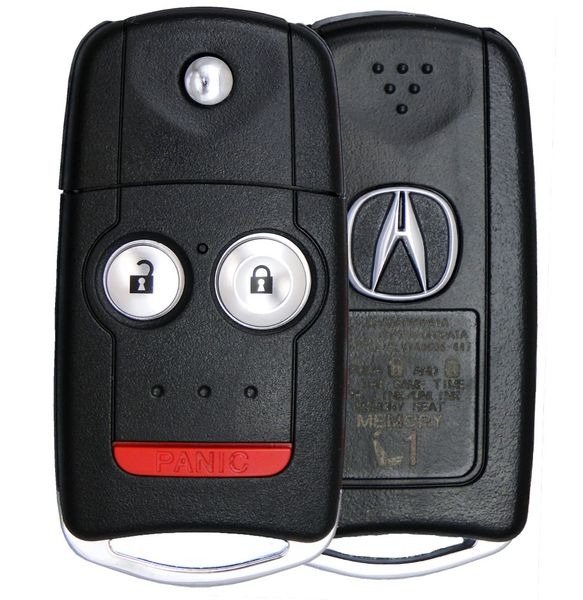 2011 Acura MDX Keyless Entry Remote Key Driver 1 35111-STX