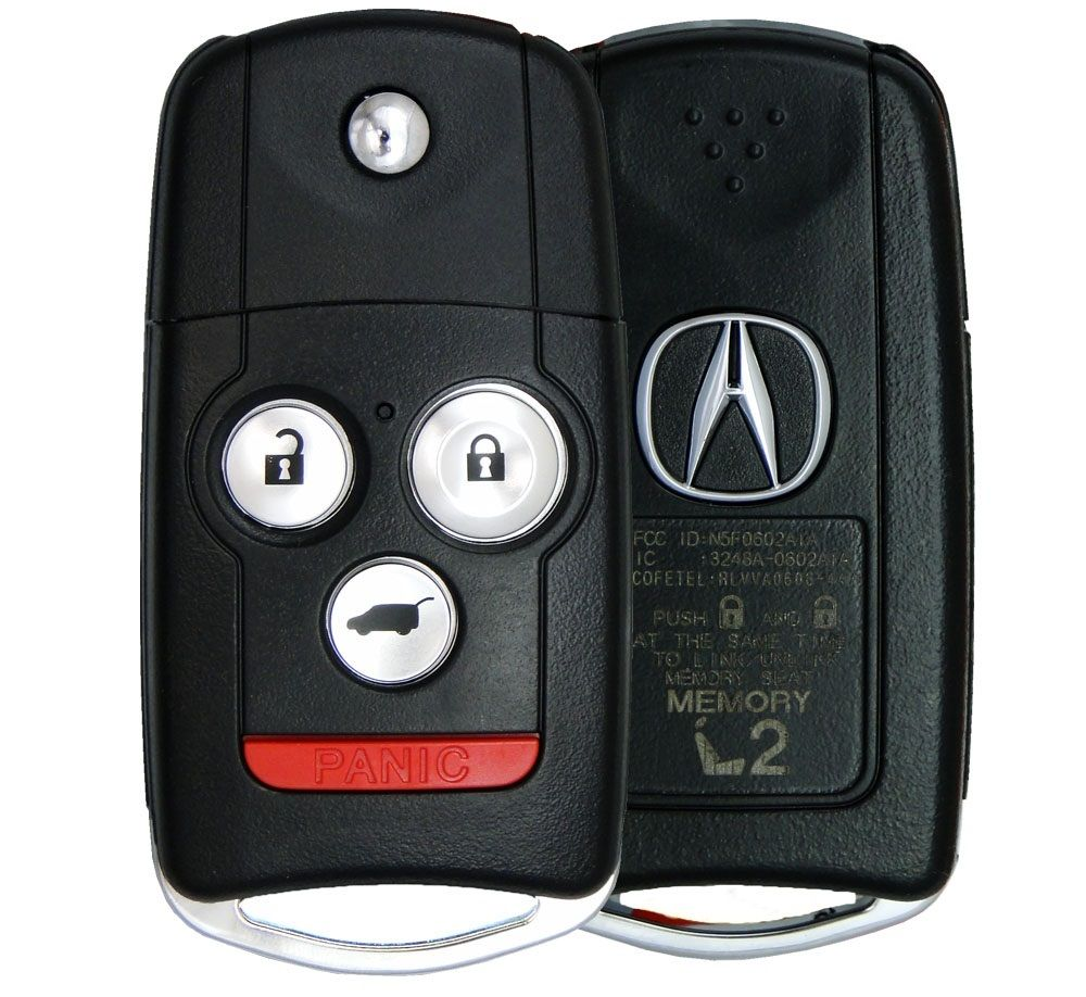 2011 Acura MDX Keyless Entry Remote Key Driver 2 35111-STX