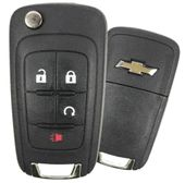 2011 Chevrolet Equinox Keyless Entry Remote Key w/Remote Start - refurbished