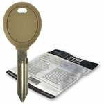 2011 Dodge Dakota transponder key blank