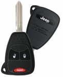 2011 Jeep Wrangler Keyless Entry Remote Key