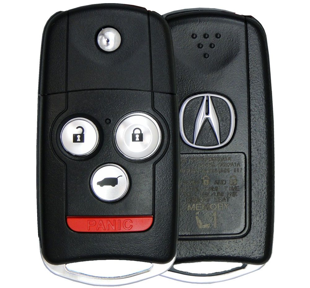 2012 Acura MDX Keyless Entry Remote Key Driver 1 35111-STX